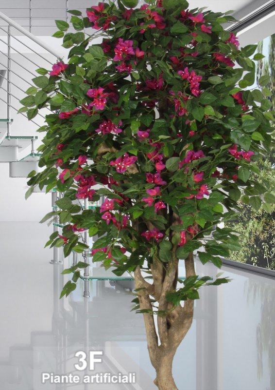 Bouganvillea mediterraneo altezza cm 200 vaso cm 28 for Piante artificiali