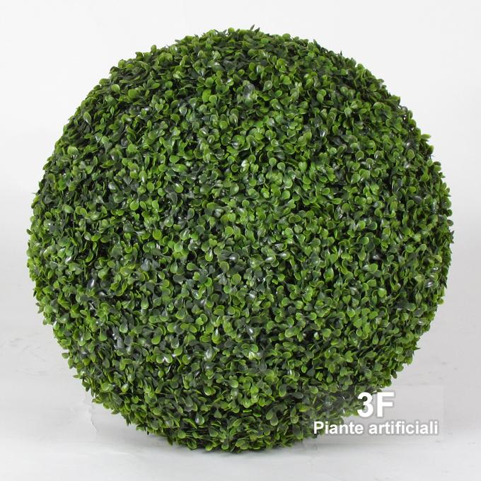 Bosso sfera boxwood ball su rete cm 40 3f piante for Piante artificiali milano