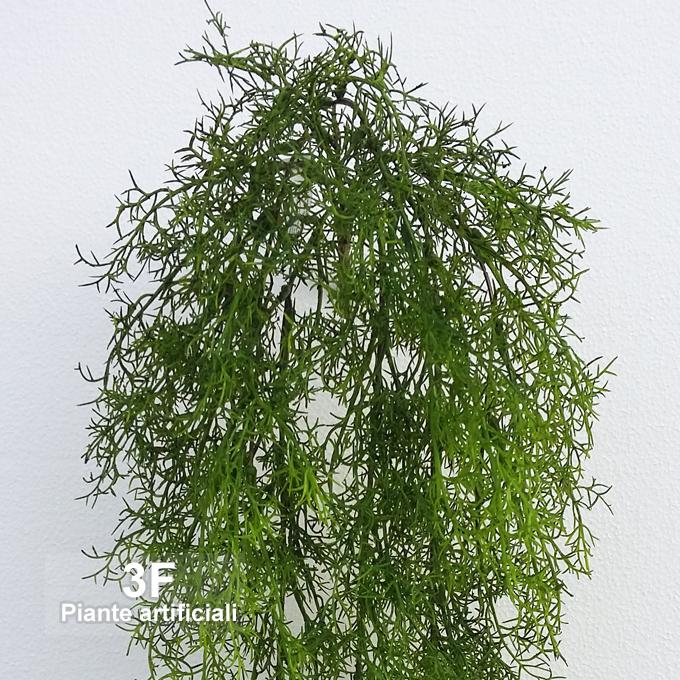Asparagina cadente green lunghezza cm 55 3f piante for Piante artificiali