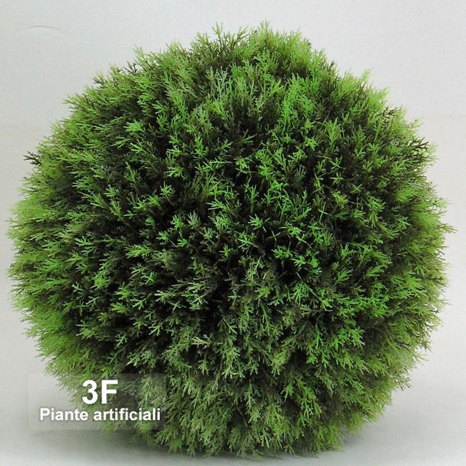 Sfera cipresso cypress ball diametro cm 40 prezzo for Piante artificiali milano
