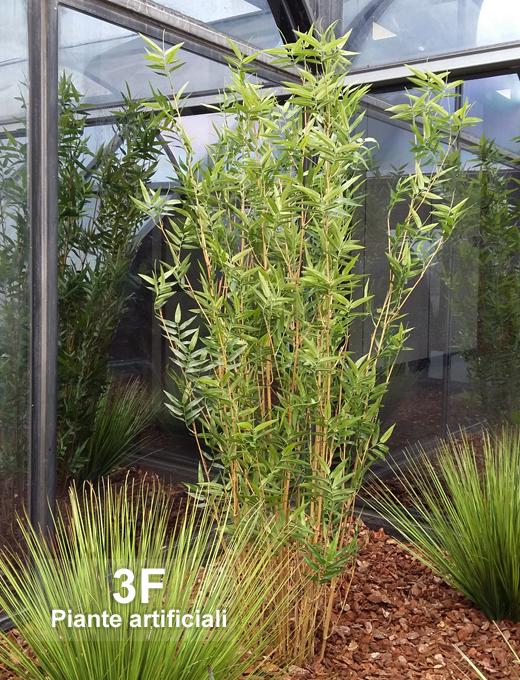 Oriental bamboo large altezza cm 150 cm 20 3f for Piante artificiali