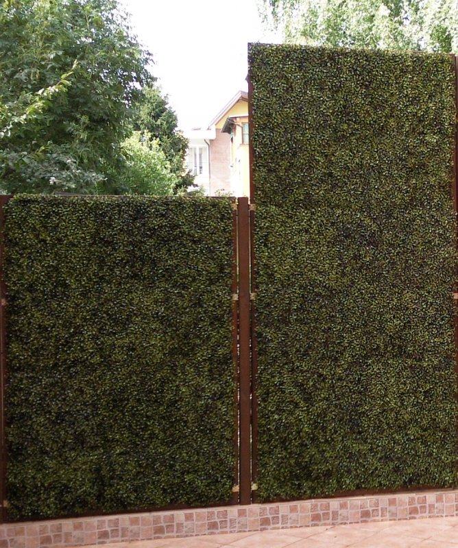 Siepe bosso 50 x 50 uvr cm 50 x 50 3f piante artificiali for Bosso siepe