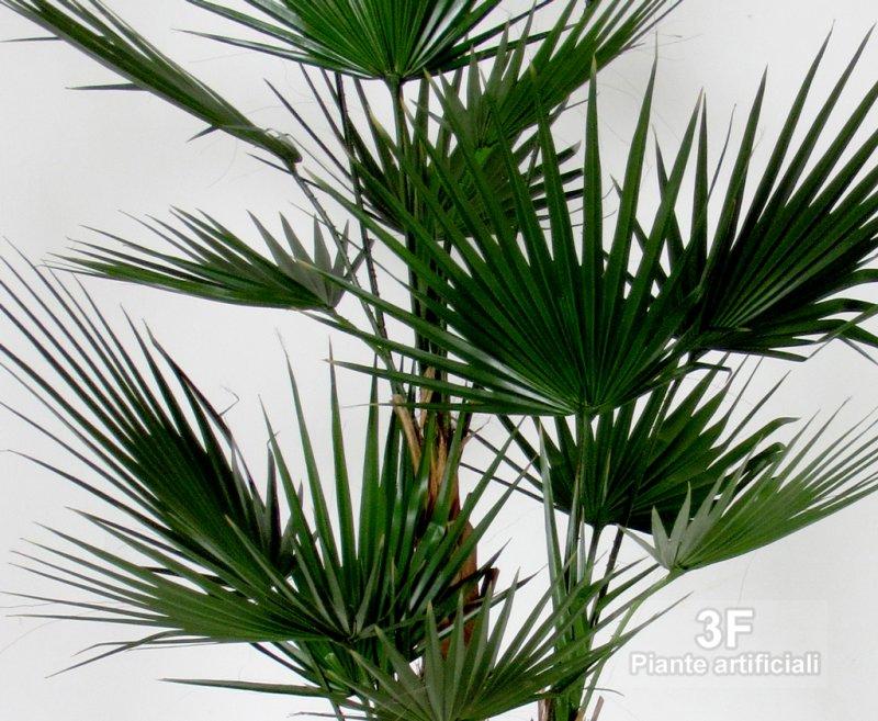 Camerus luxe 3 trunks 18 lvs palma altezza cm 160 for Piante artificiali milano
