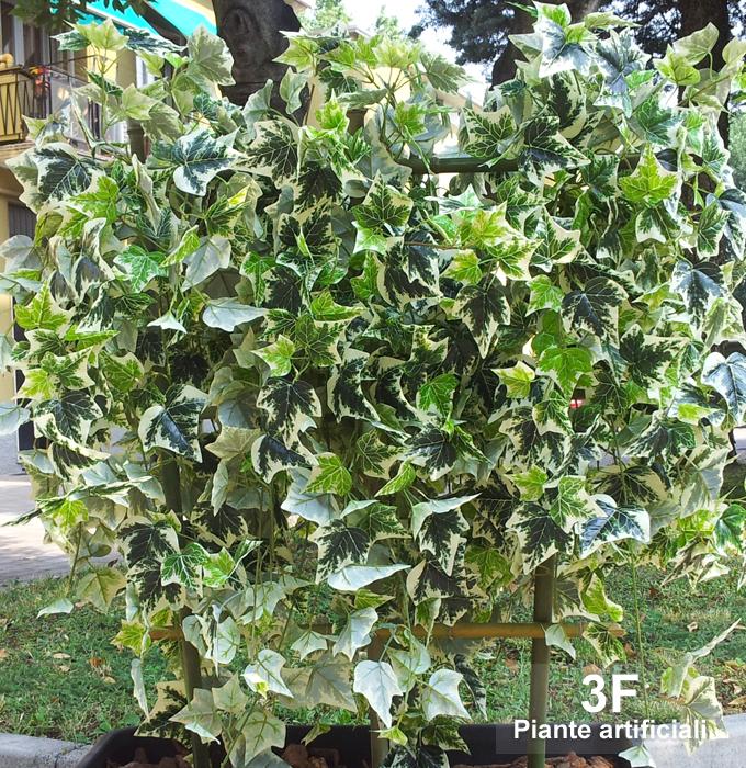Siepe edera 3d altezza cm 130 larghezza cm 100 for Edera artificiale per balconi