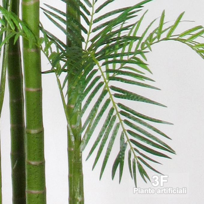 Palma areca pearl cm 300 3f piante artificiali for Piante artificiali milano
