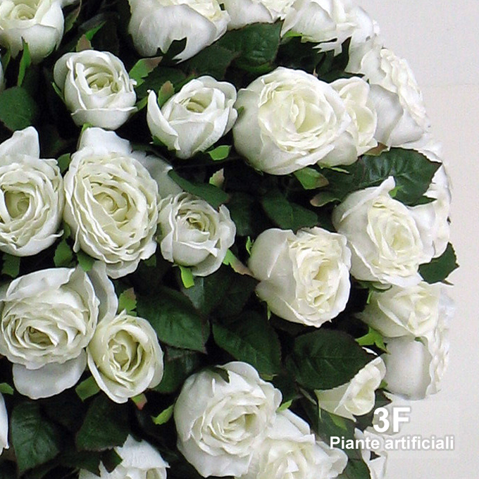 Sfera di rose big cm 45 3f piante artificiali for Piante artificiali