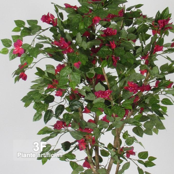 Bouganville new garden red altezza cm 150 3f piante for Piante artificiali