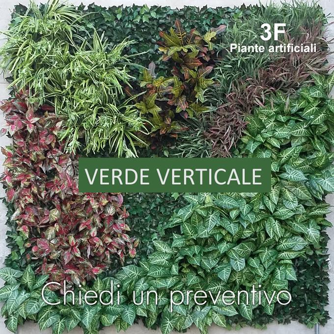 Parete Piante Artificiali : Verde verticale personalizzabile articolo su