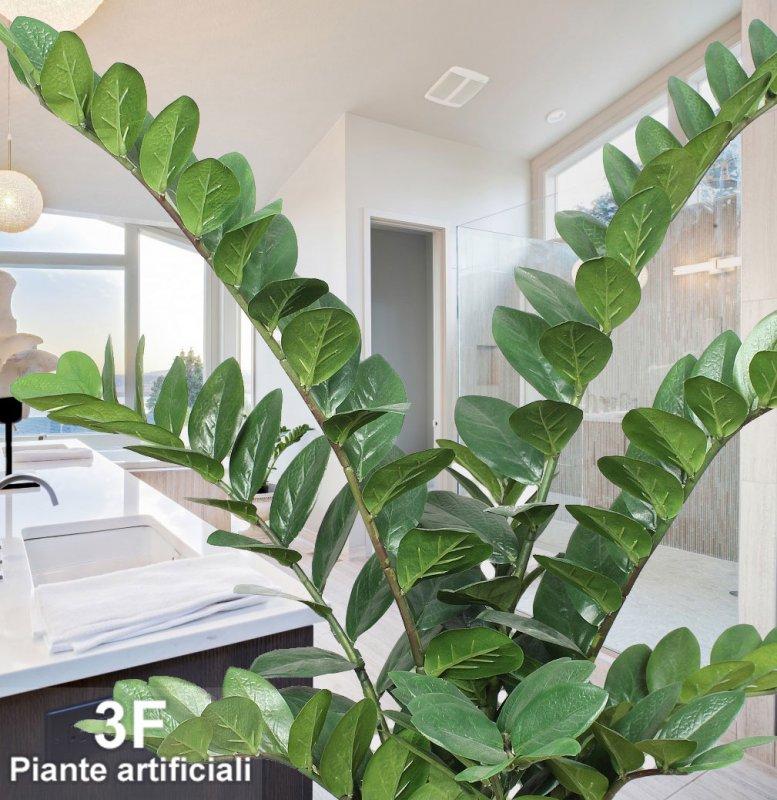 Zamioculcas altezza cm 90 vaso cm 18 3f piante for Vasi decorativi da interno