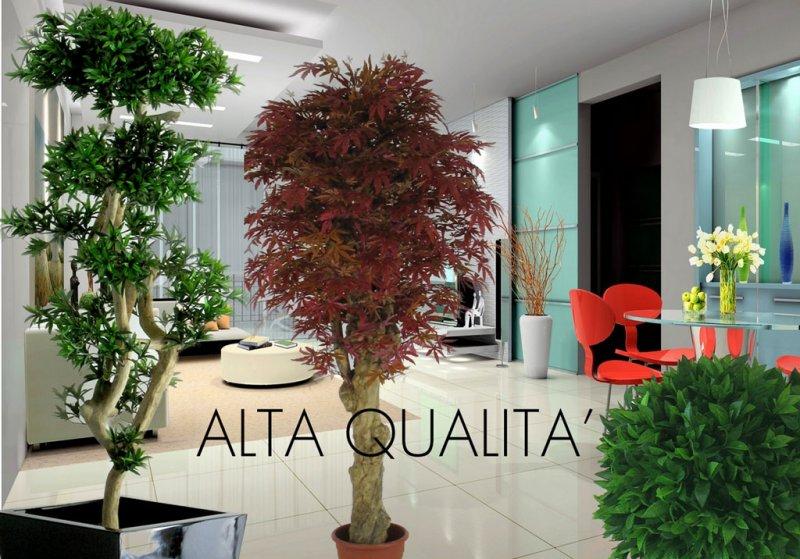 Consulenza e vendita piante e siepi artificiali vasi for Consulenza arredamento