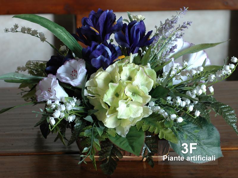 Composizioni fiori artificiali 3f piante artificiali for Fiori artificiali