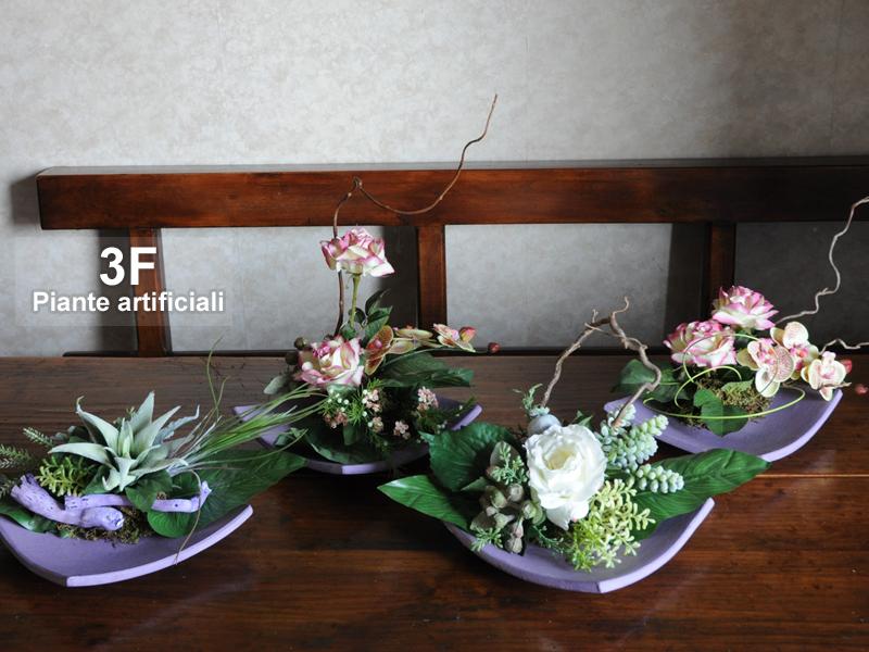 Composizioni fiori artificiali 3f piante artificiali for Composizioni fiori finti per arredamento