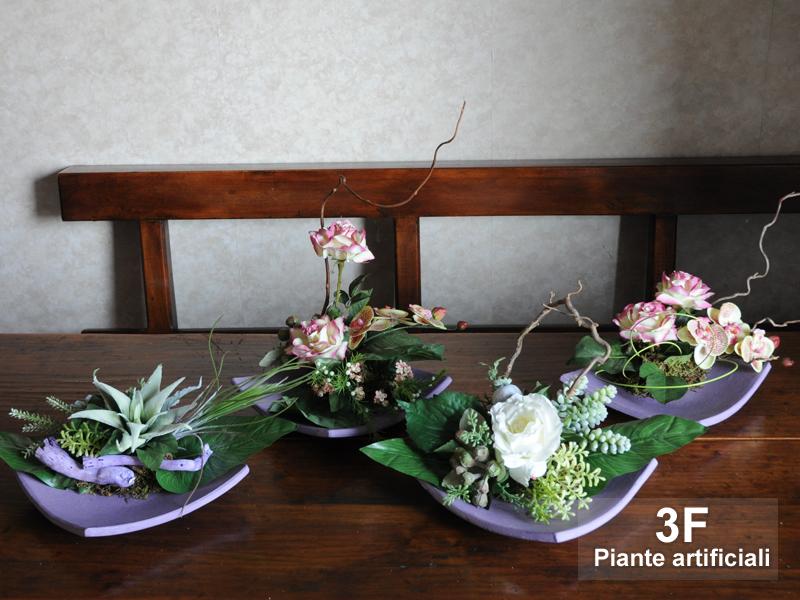 Parete Piante Artificiali : Composizioni fiori artificiali f piante