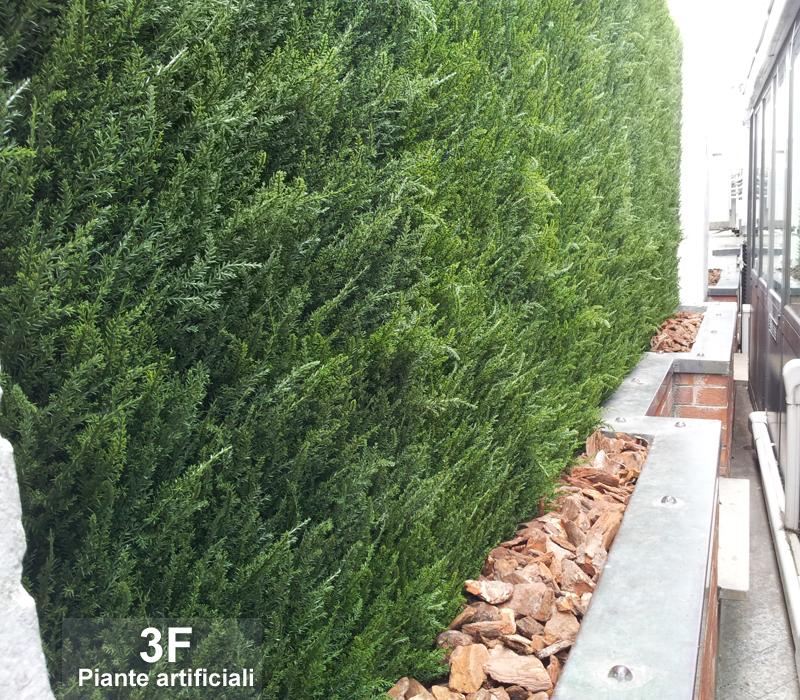 Piante artificiali allesimenti parte 2 3f piante for Siepi finte