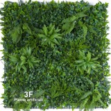 SIEPE MIX GREEN-VERDE VERTICALE SIEPI ARTIFICIALI