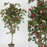BOUGANVILLE NEW GARDEN RED-PIANTE FINTE BOUGANVILLE ARTIFICIALE